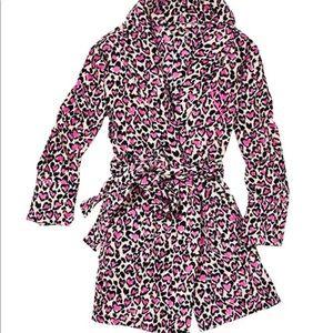 Victoria's Secret Leopard Hearts Robe